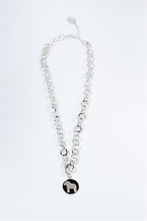 Halsband nordic 45 silver